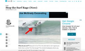 Stop the Surf Rage (Now)