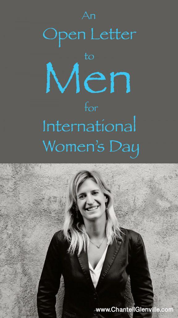An Open Letter to Men for International Women's Day 2017