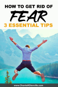 How To Get Rid Of Fear - 3 essential steps to overcome fear and become fearless in your life and business. Click to read more #fearless #overcomefear #fearoffailure #beatfear #byefear #fearbegone